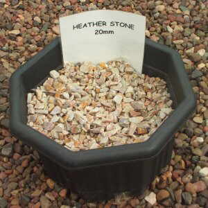 Heather Stone 20mm