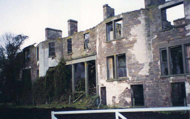 Kincaldrum House in 1999